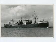MS Tjisondari Photo Postcard - KJCPL Royal Interocean Lines 1881