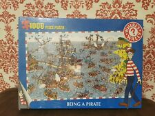 Where's Wally 1000 Piece Jigsaw Puzzle - Being A Pirate. Brand New And Sealed