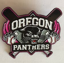 Oregon Panthers Womens Large Softball Pin Badge Rare USA Sports Vintage (E2)