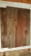"Rustic Old Weathered Barn Wood Lumber  Vintage Lot of 3 Boards  36"" Long"