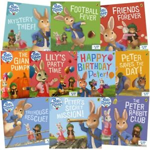 The Adventures of Peter Rabbit: 10 Kids Picture Books Bundle, Books, Brand New