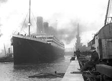 RMS TITANIC OCEAN LINER A4 POSTER PRINT