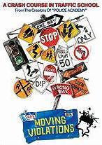 MOVING VIOLATIONS - DVD - Region 1 - Sealed