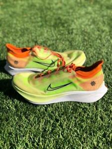 Nike Womens Zoom Fly 3 Green Coral CQ4483-300 Running Run Gym Shoes Sz 10