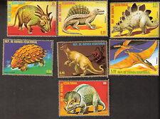 Equatorial Guinea 1978 Dinosaurs Complete Set of (7) MNH