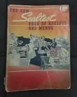 Rare Old Original Vintage Sealtest Book Recipes and Menus 1940