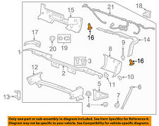 GM OEM-Fender Liner Retainer 11589293