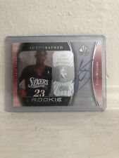 2005-06 SP Authentic Louis Lou Williams On Card Auto Rookie RC /1299 Clippers 🔥