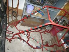 Champ style go kart frame, project - selling as is includes rear cone and panels