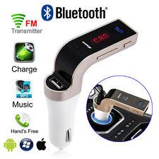 Bluetooth Wireless Car Kit MP3 Player FM Transmitter Radio Adapter USB Charger