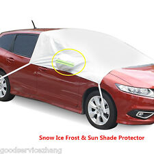 Car Front Windshield + Side Rearview Mirror Snow Ice Frost & Sun Shade Protector