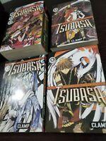 TSUBASA: Reservoir Chronicle Manga Lot Volumes 1-6 CLAMP Del Rey Japanese Book