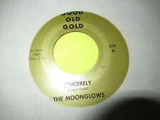 "THE MOONGLOWS SINCERELY / JACKIE ROSS SELFISH ONE 45 7"" OLDIES"