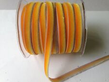 """3/8"""" Ombre Velvet Ribbon - May Arts -  TV12 - Yellow Ombre - 30 Yards"""