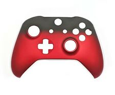 Xbox One Controller Custom Red Fade Replacement Front Shell Face plate