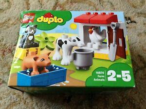 LEGO DUPLO 10870 FARM ANIMALS (SEALED) DAMAGED BOX