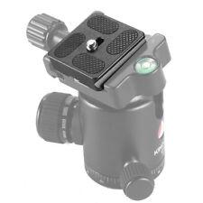 PU-40 Quick Release Plate For Digital Cameras Tripod Ballhead Lens Mount Adapter