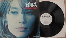 Francoise HARDY-voilà rare GER weisspromo 1969 POP LP TOP Condition