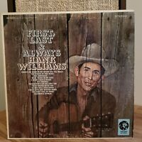 Hank Williams First last & Always Vinyl LP MGM Records SE3928