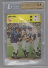 1969 Nolan Ryan Sportscaster Card New York MIracle Mets 02-16 BGS 9.5 Gem Mint