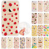 Rubber Patterned Soft TPU Silicone Back Case Cover for iPhone X 8 7 6 6S 5 Plus