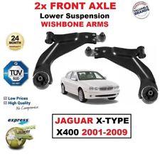 2X Eje Delantero Brazos Suspensión Inferior para Jaguar X-Type X400 2001-2009