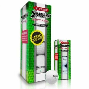 Srixon Soft Feel 11 Super Sleeve 24 ball pack white