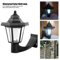 Solar LED Wall Lamp Waterproof Outdoor Garden Landscape Street Hexagonal Light