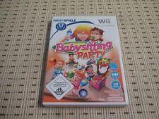 Babysitting Party für Nintendo Wii und Wii U *OVP*