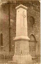 Carte LA CHAPELLE DU MONT DE FRANCE Monument aux Morts Grande Guerre 1914