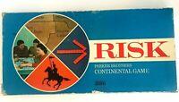 Risk Board Game 1968 Parker Brothers Continental Game Vintage Table Nostalgia