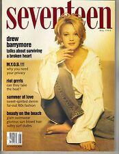 DREW BARRYMORE Seventeen Magazine 5/93 BAREFOOT PC