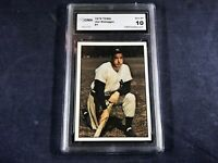 G4-19 BASEBALL CARD - JOE DIMAGGIO NEW YORK YANKEES - 1979 TCMA - GRADE 10