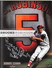 Brooks Robinson Auto Press Box Legend Magazine Ltd Edition #'d/100