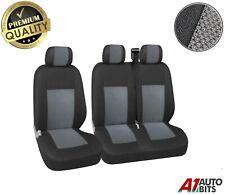 2+1 Grey Premium Fabric Seat Covers Set Vw Transporter T4 1992-2003 Caravelle
