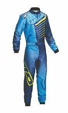 Vêtements de sport automobile enfants bleus