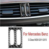 For Mercedes Benz C Class W204 Carbon Fiber Console Air Vent Outlet Knob Trim