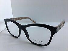New BURBERRY B 2722 3600 54mm Black Cats Eye Rx Women's Eyeglasses Frame #3