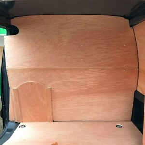 Citroen Berlingo Plywood Bulkhead With Sliding Hatch 2008>2018, FREE DELIVERY