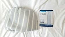 Niob Reversible Ironing Board Cover ( Gray Stripes ) Fast Shipping