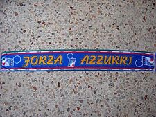 d24 sciarpa ITALIA football federation association scarf schal bufanda italy