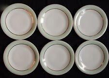B'/ Lot x6 assiettes à dessert GEORGES BOYER Porcelaine de LIMOGES (lot n°1)