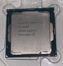 New listing Intel Core I3-9100f Desktop Processor