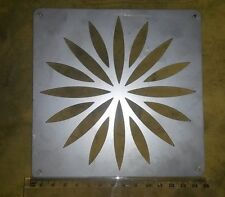 SQUARE Stainless Steel 150mm 15cm 6 inch Diameter Gully Drain Grid Cover Grate