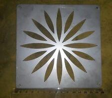 quadrato acciaio inox 150mm 15cm 6 Inch Diameter scarico fogna Griglia copertura