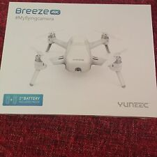 NEW Yuneec Breeze Drone 4K Self Flying Camera Quadcopter 2nd Battery YUNFCAUS