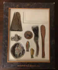 Fontanini Nativity Village fishing accessories set box no card.
