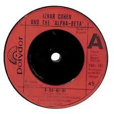 """Izhar Cohen & The Alpha-Beta - A-Ba-Ni-Bi  - 7"""" Record Single"""