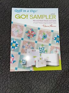 Quilt in a day Go! Sampler instruction book by Eleonor Burns. Slightly Used
