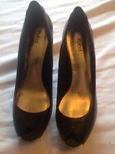 b64ce29b8b3 Reba-para mujer Peep Toe Zapatos de tacón